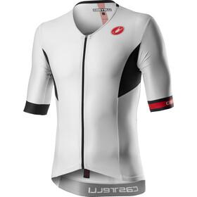 Castelli Free Speed 2 Race Maillot manches courtes zippé Homme, white/black